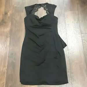 SCARLETT NWT SIZE 6 BLACK DRESS
